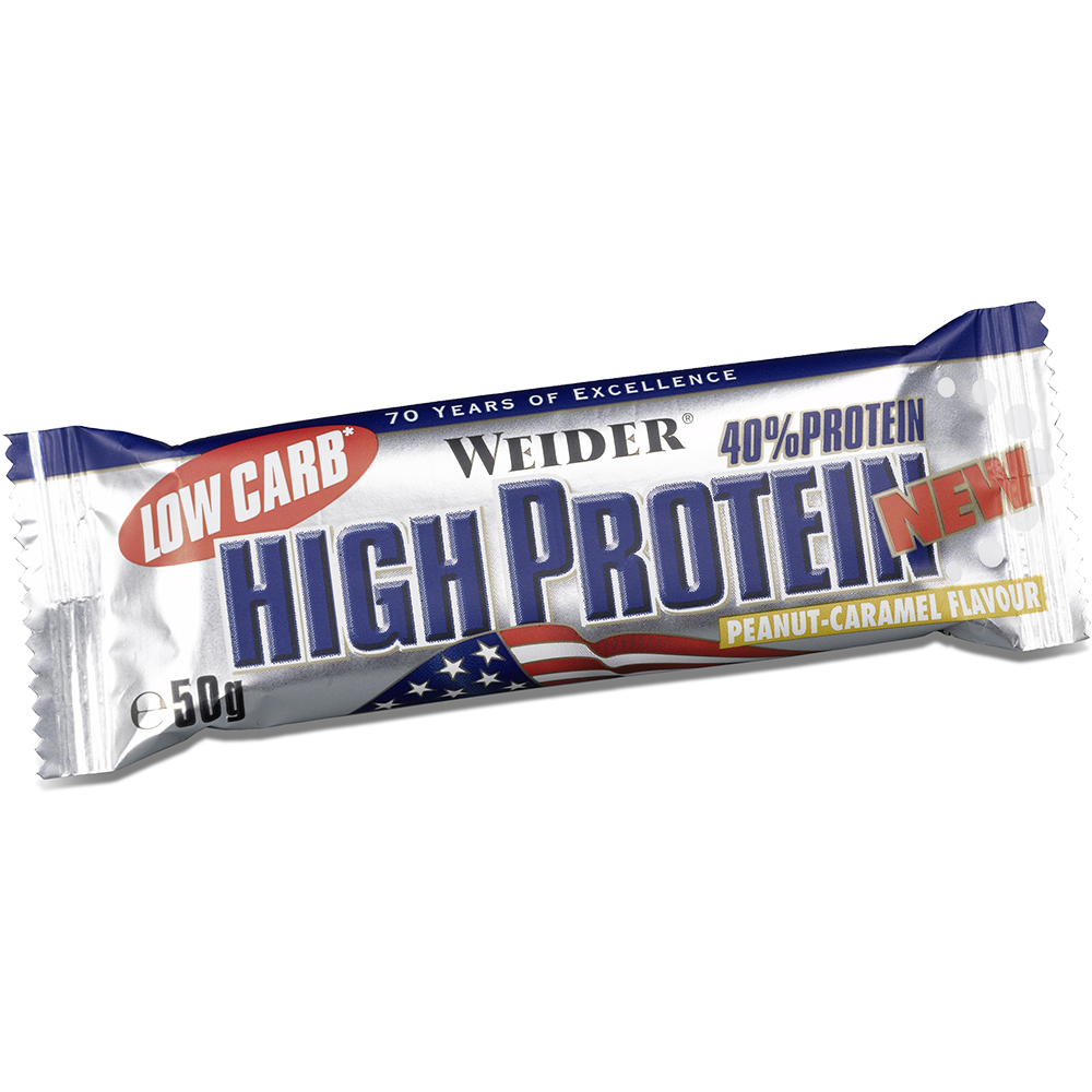 Weider Nutrition Low Carb High Protein Bar 50 g