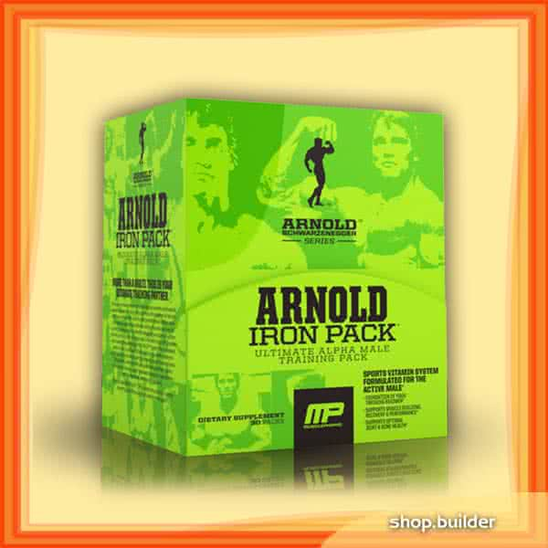 MusclePharm Arnold Schwarzenegger - Iron Pack™ 30 bal.