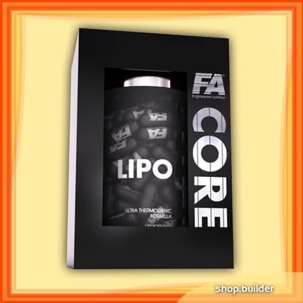 Fitness Authority Lipo Core 120 kaps