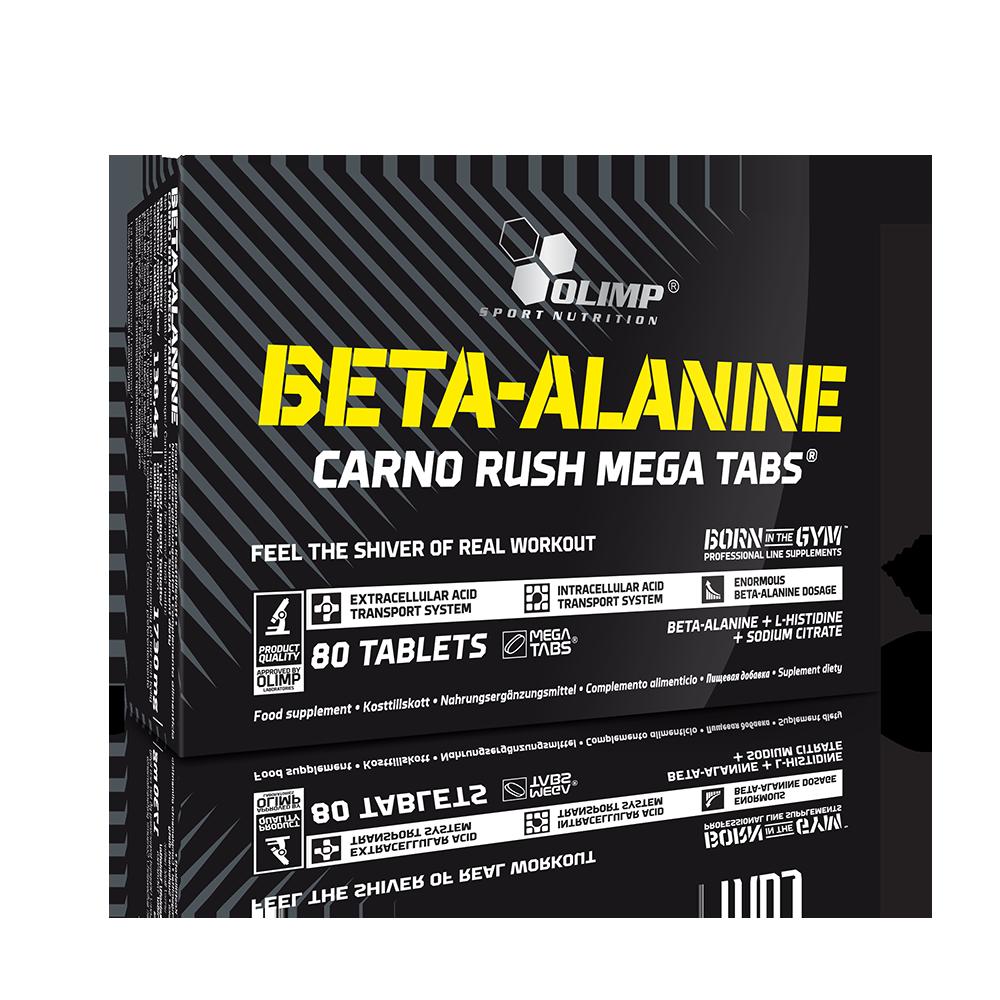 Olimp Sport Nutrition Beta Alanine Carno Rush 80 tbl.