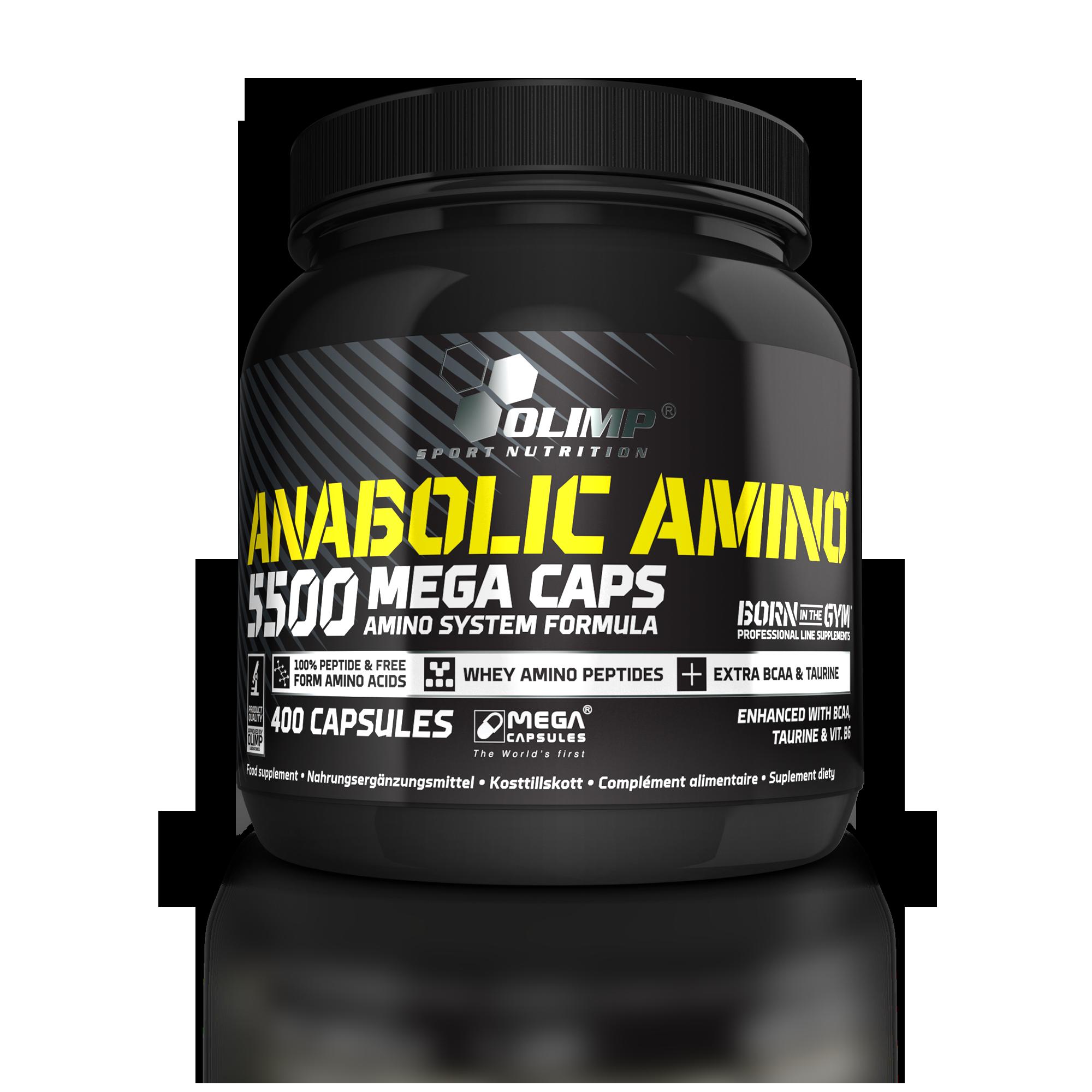 Olimp Sport Nutrition Anabolic Amino 5500 Mega Caps 400 kaps