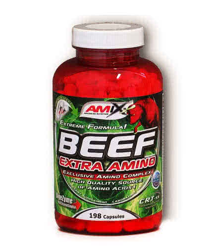 Amix Beef Extra Amino 198 kaps