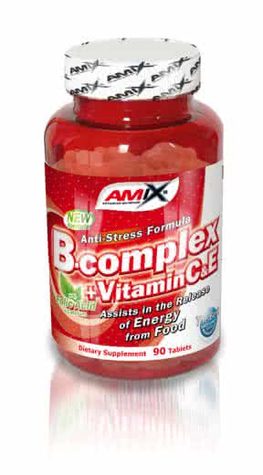Amix B-Complex with Vitamin C&E 90 tbl.