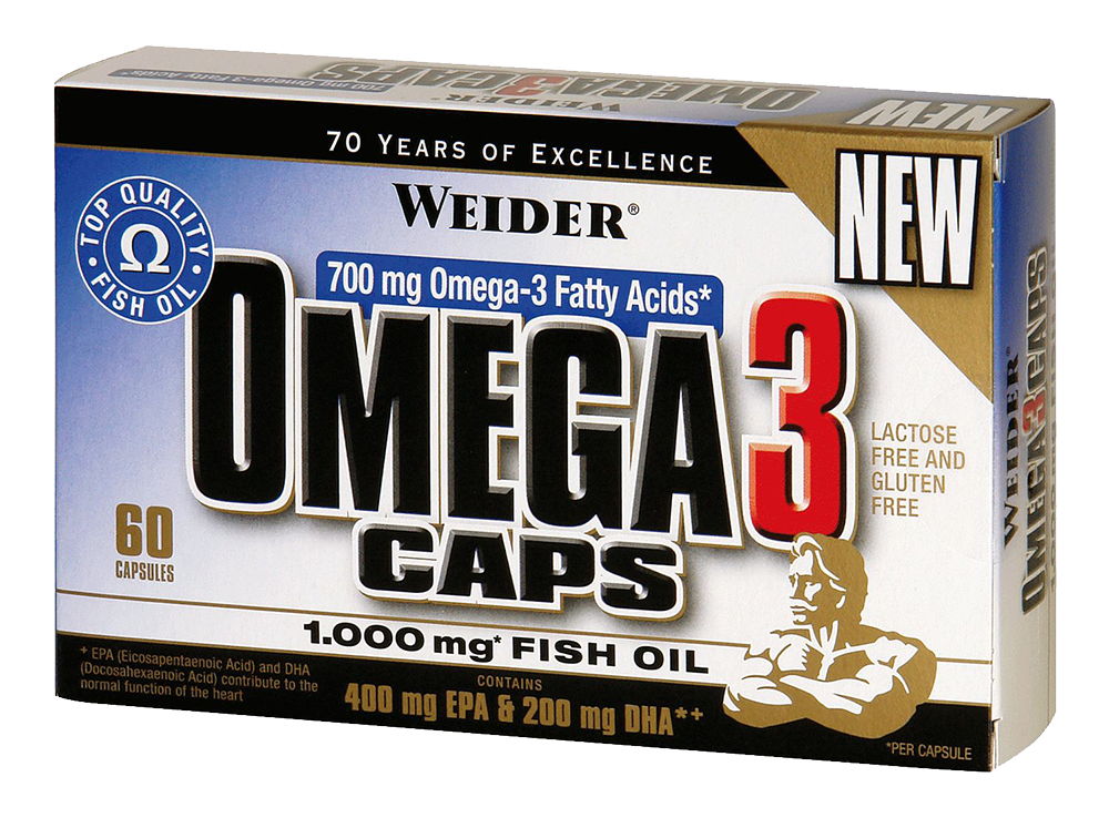 Weider Nutrition Omega 3 60 kaps