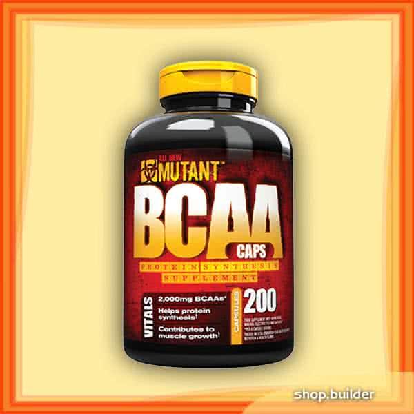 Mutant BCAA 200 kaps