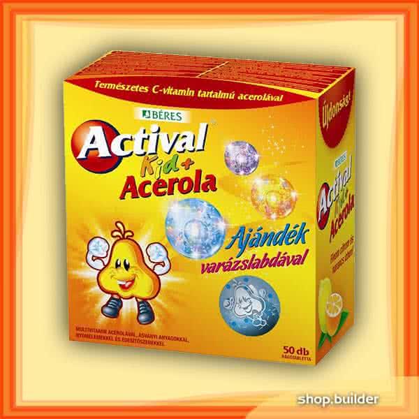 Beres Actival Kid + Acerola 50 tbl.
