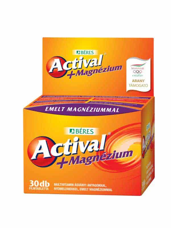 Beres Actival + Magnesium 30 tbl.