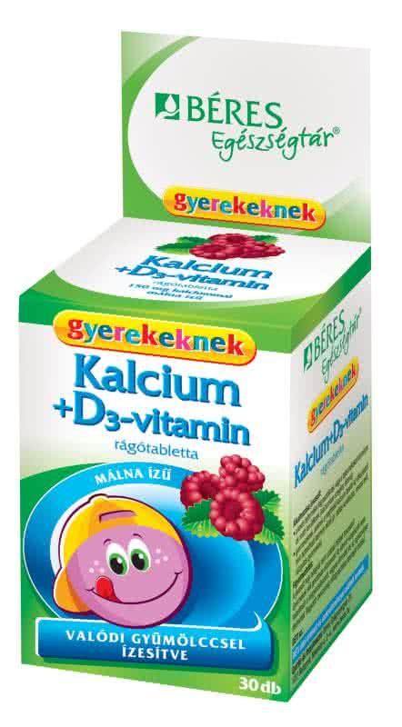 Beres Calcium + D3 for Kids 30 ž.t.