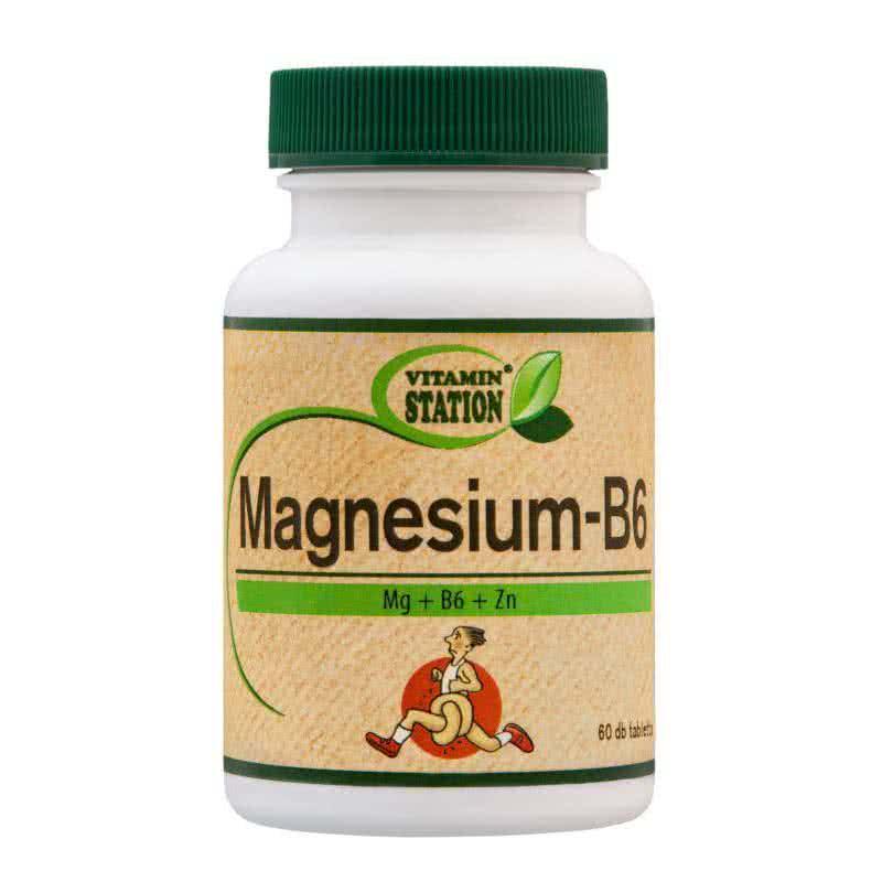 Vitamin Station Magnesium+B6 60 tbl.