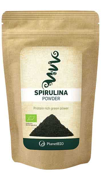 PlanetBio Spirulina powder 100 g
