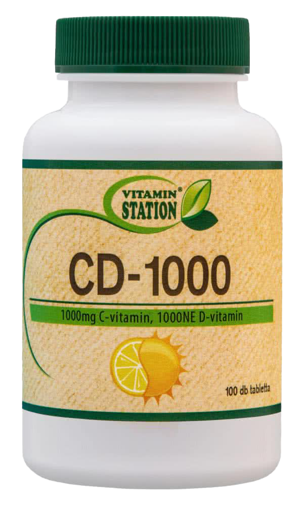 Vitamin Station CD-1000 100 tbl.