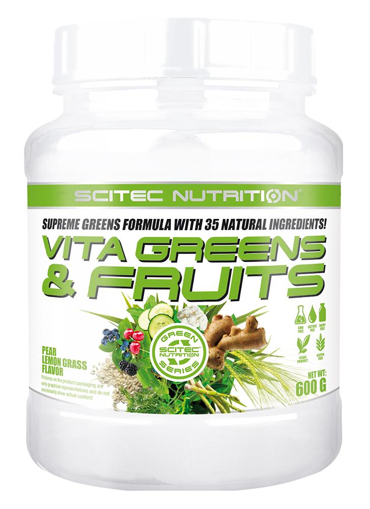 Scitec Nutrition Vita Greens & Fruits 600 g