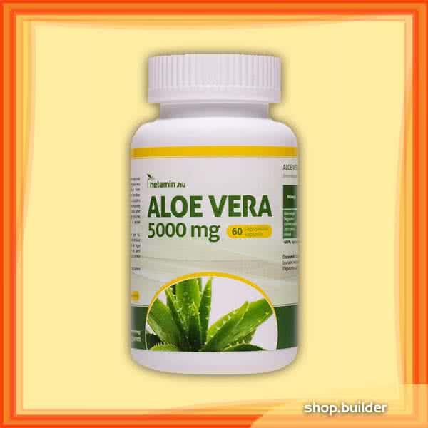 Netamin Aloe Vera 5000mg 60 kaps