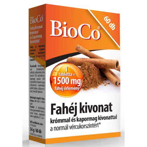 BioCo Cinnamon caps 60 kaps