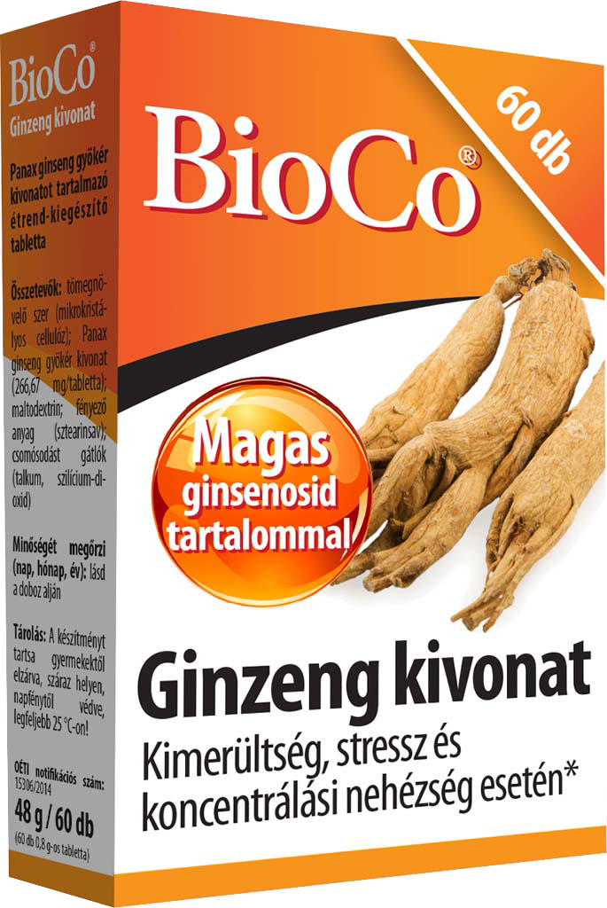 BioCo Ginseng extract 60 tbl.