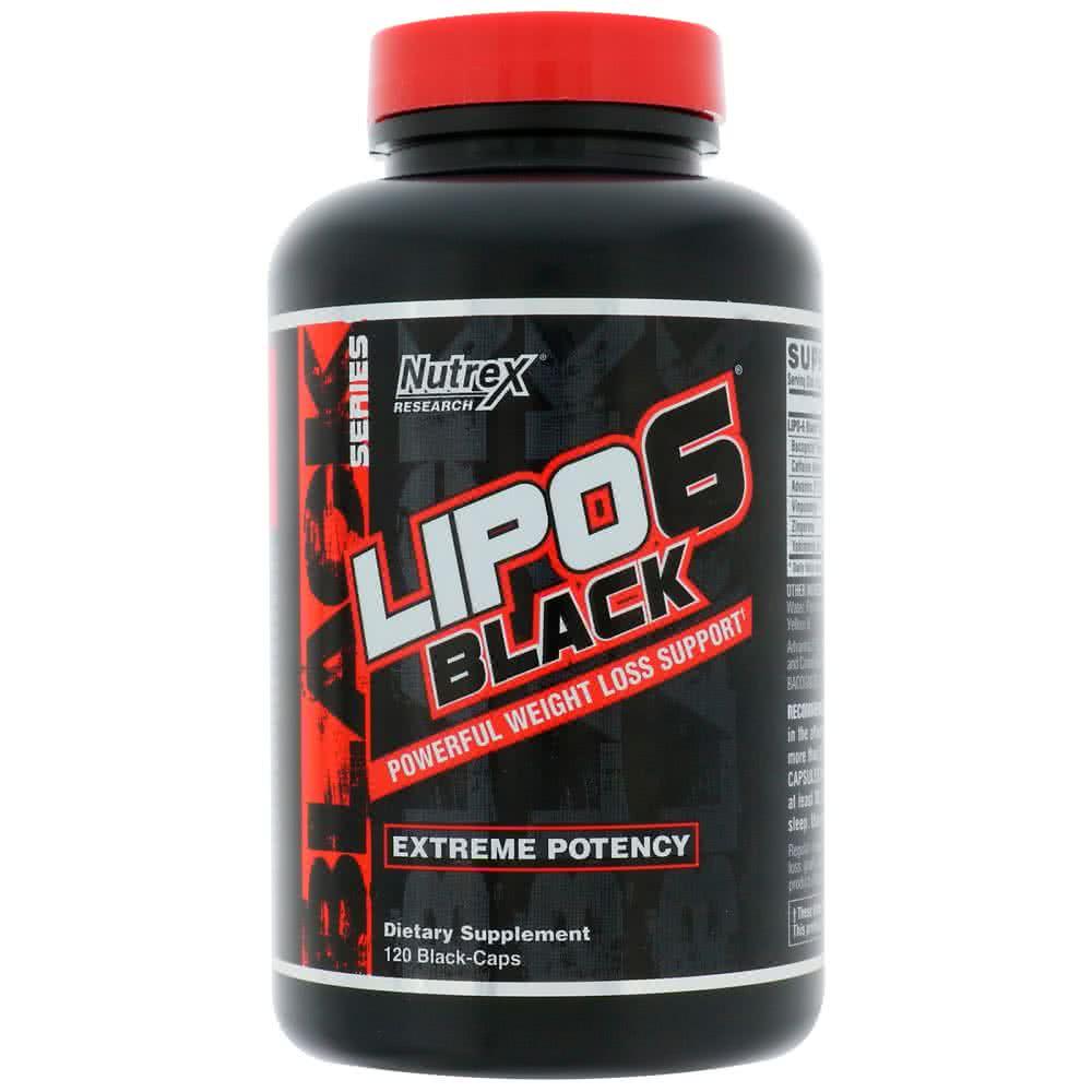NutreX Research Lipo-6 Black Extreme 120 kaps