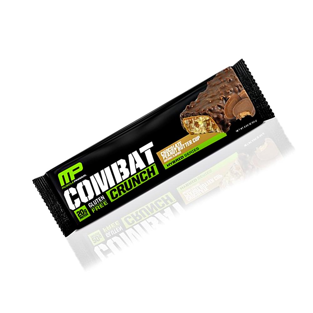 MusclePharm Combat Crunch Bars 63 g