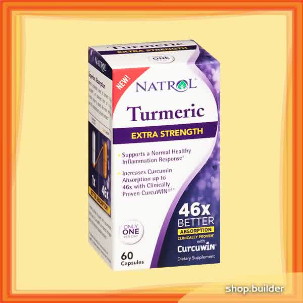 Natrol Turmeric Extra Strength 60 kaps