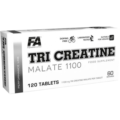 Fitness Authority Tri-Creatine Malate 1100 120 tbl.