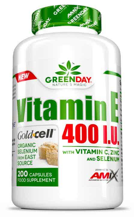 Amix GreenDay Vitamin E 400 I.U. LIFE+ 200 kaps