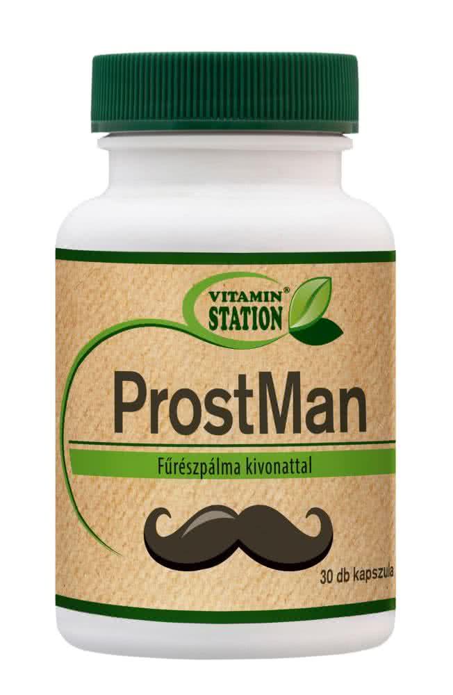 Vitamin Station ProstMan 30 kaps