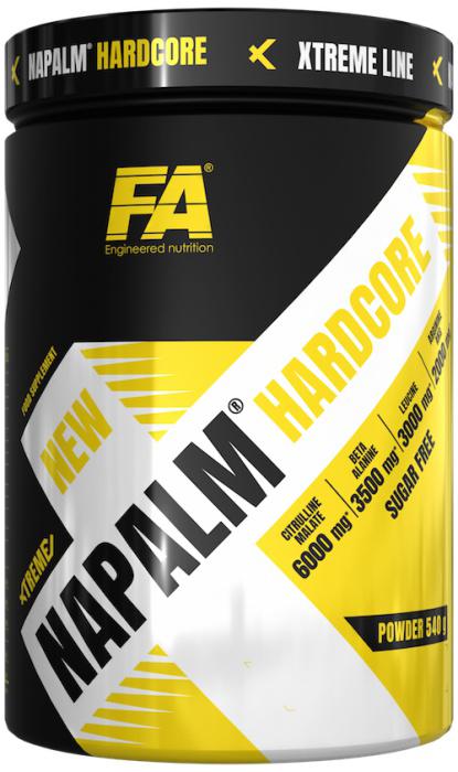Fitness Authority XTreme Napalm Hardcore 540 g