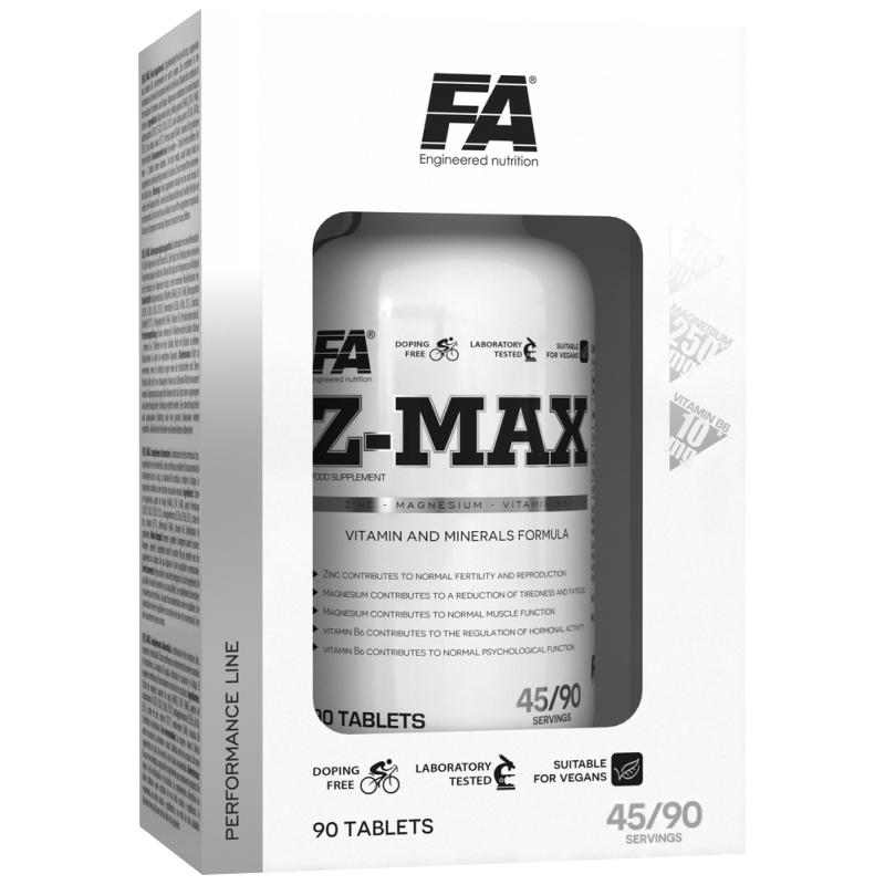 Fitness Authority Z-Max 90 tbl.