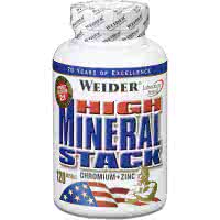 Weider Nutrition High Mineral Stack (120 kaps)