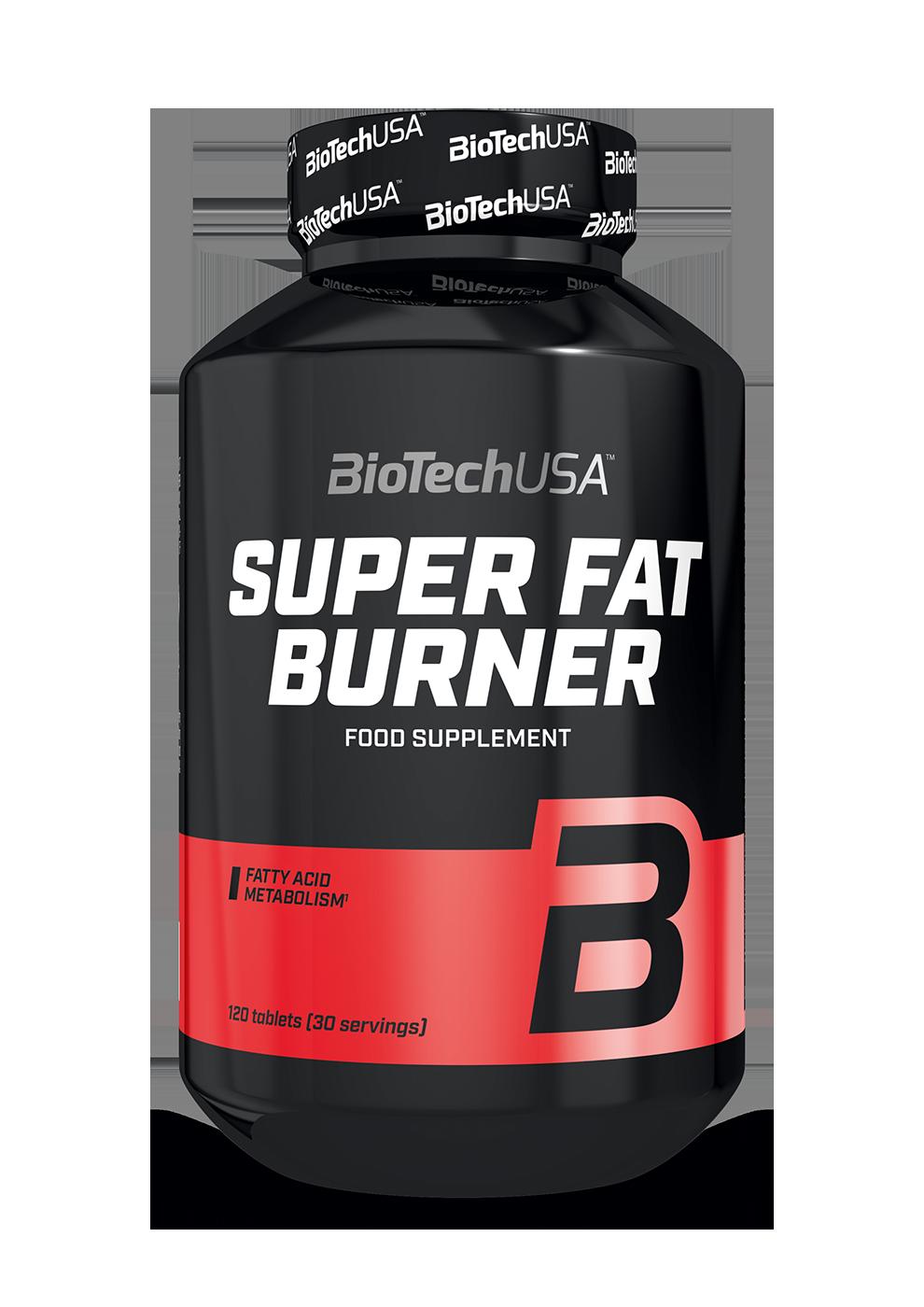 BioTech USA Super Fat Burner 120 tbl.