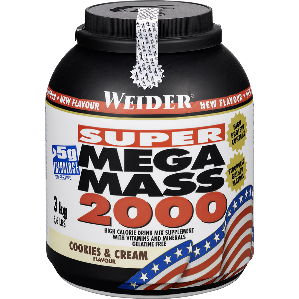 Weider Nutrition Super Mega Mass 2000 3 kg