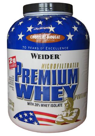 Weider Nutrition Premium Whey 2,3 kg