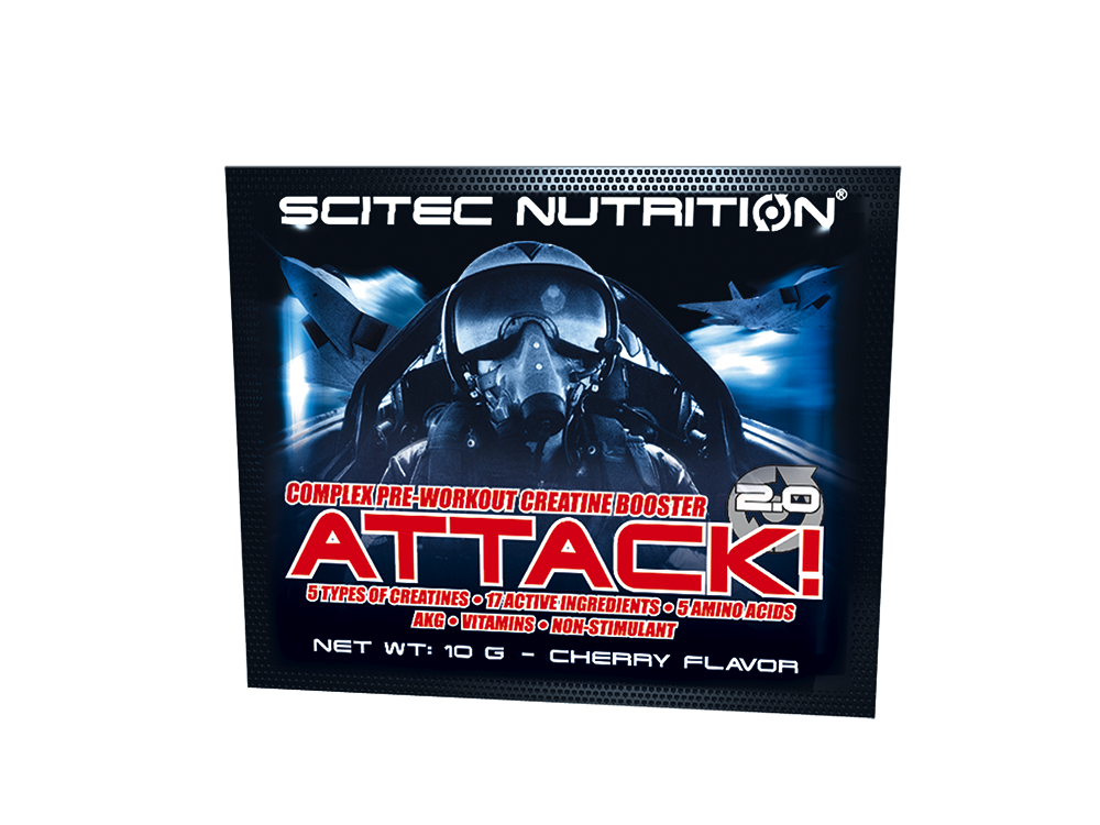 Scitec Nutrition Attack 2.0 10 g