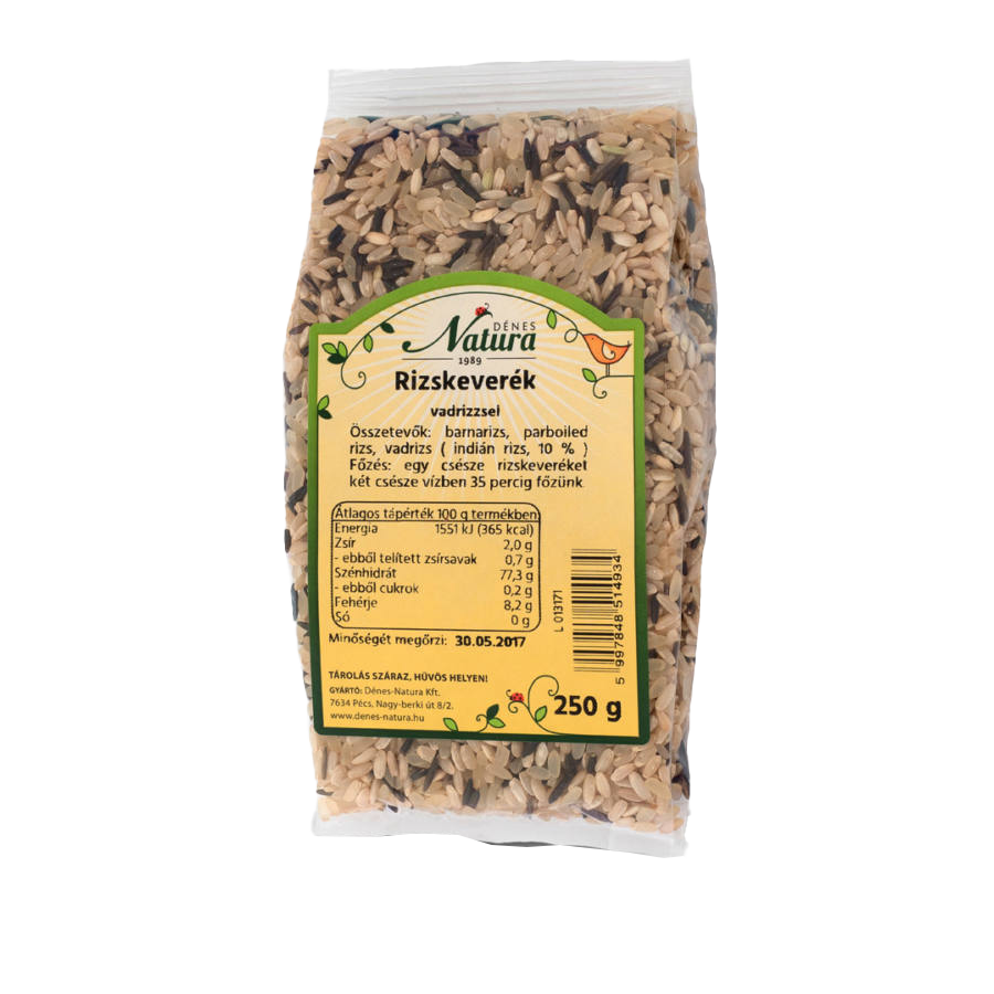 Natura Mixed rice with wild rices 0,25 kg