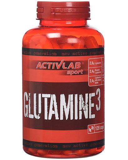 ActivLab Glutamine 3 128 kaps