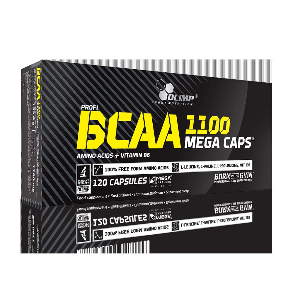 Olimp Sport Nutrition BCAA Mega Caps 120 kaps