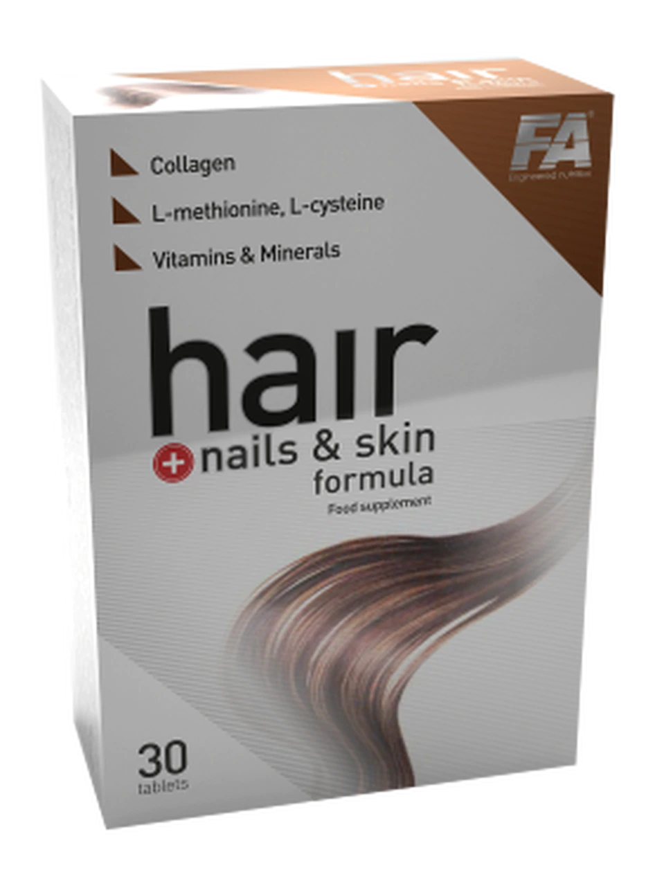 Fitness Authority Hair + Nails and Skin Formula 30 tbl.