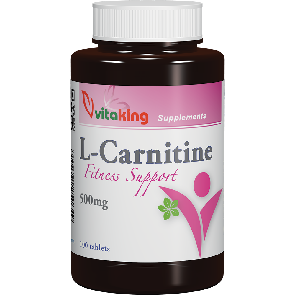 VitaKing L-Carnitine Fitness Support 100 tbl.