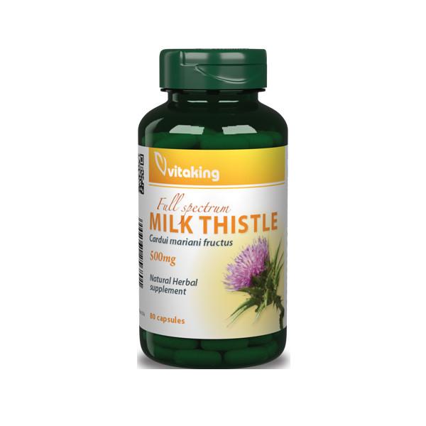 VitaKing Milk Thistle 80 kaps