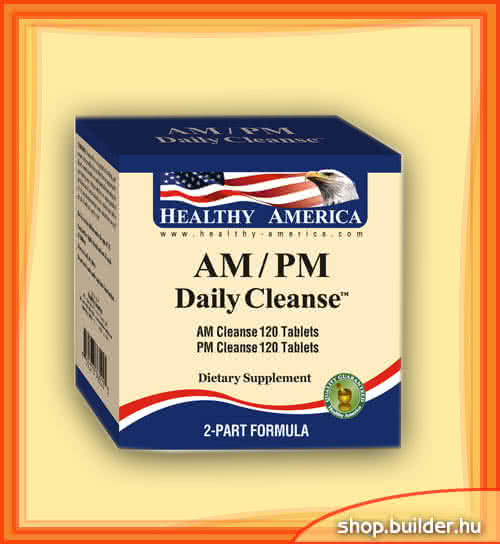 Healthy America AM/PM Daily Cleanse 240 tbl.