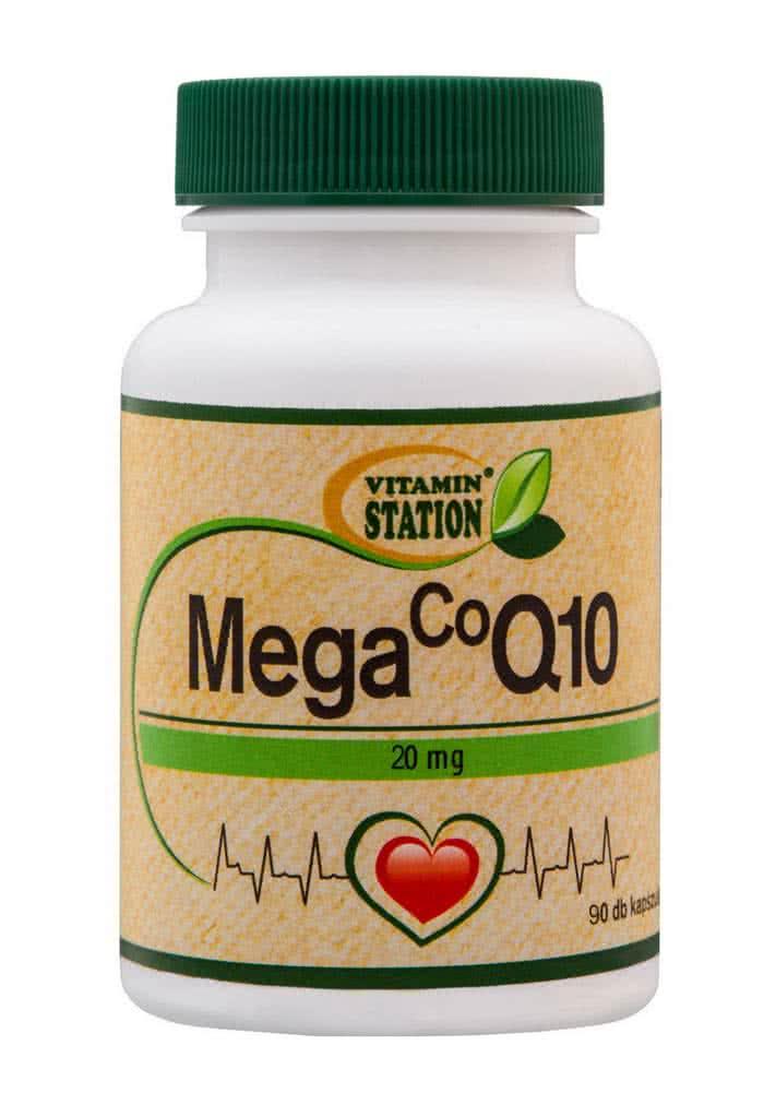 Vitamin Station Coenzyme Q10 90 kaps