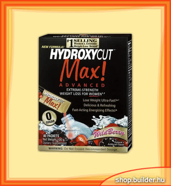 MuscleTech Hydroxycut Max Advanced Instand Drink Packets 40 bal.