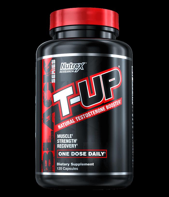 NutreX Research T-Up Black 120 kaps