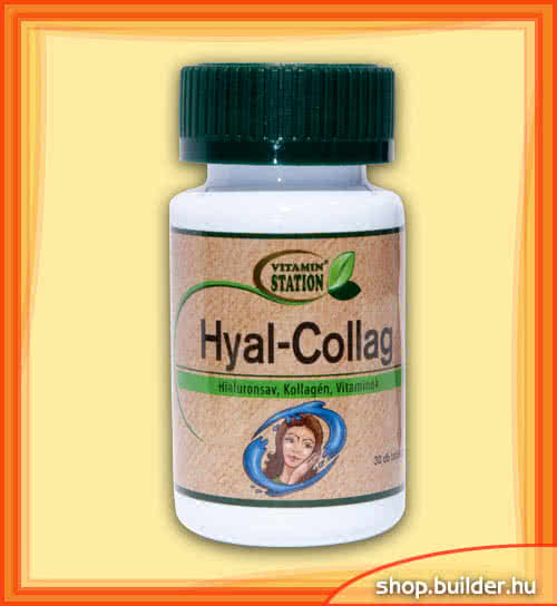 Vitamin Station Hyal-Collag 30 tbl.