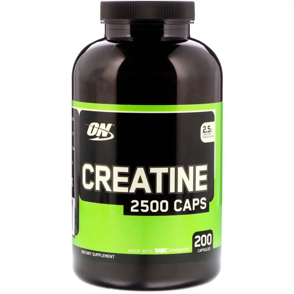 Optimum Nutrition Creatine 2500 Caps 200 kaps